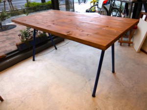 S0400413 300x225 Pipe Frame Dining Table