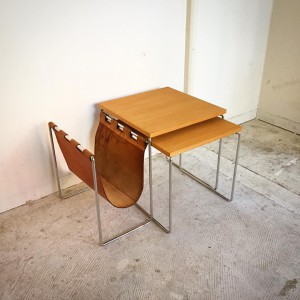 15272314 1079329888859119 8163880532711075563 o 300x300 Brabantia Nest Table Leather Mag Rack Netherlands Vintage 60s