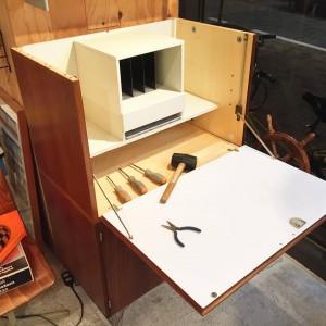 15590304 1100525540072887 8101330564656118161 n 300x300 Pastoe UMS Rosewood Writhing Bureau 60s Design by Cees Braakman