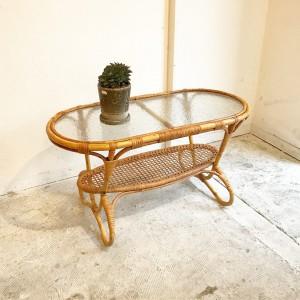 19388713 1285484914910281 8682728050714447919 o 300x300 Rattan Coffees Table for Trio Noordwolde オランダ by Dirk van Sliedregt
