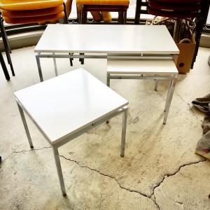 19488553 1294579627334143 531192775441359750 o 300x300 Chrome Leg Wht Topped Nest Table  Dutch modern 1960s